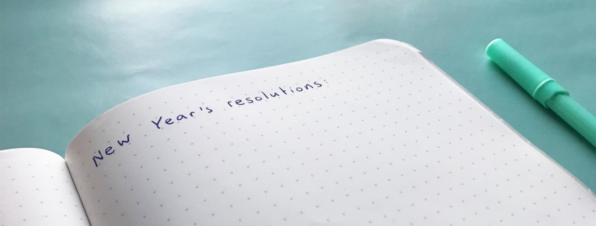 Five New Year's Resolutions for a happy, healthy and sustainable 2019