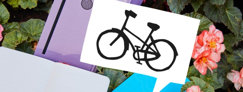 We've partnered with Fietskoeriers for environmentally-friendly delivery of our eco-notebooks