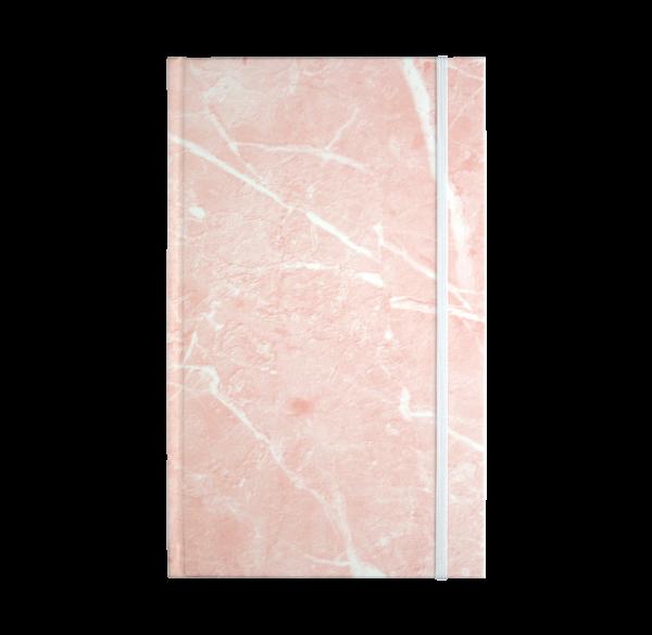pink marble hardcover rockbook