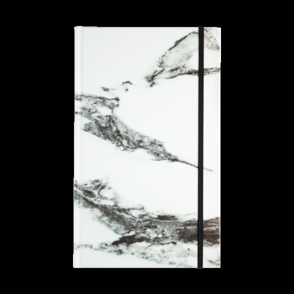 hardcover rockbook marble white
