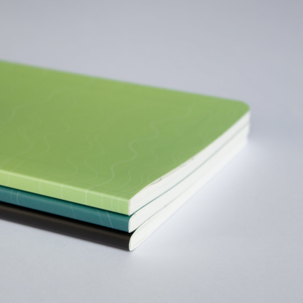 Mint Turquoise Black Softcover Rockbook Set