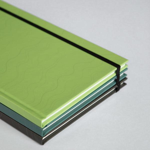 Close-up Mint, Turquoise, Slate Hardcover Set
